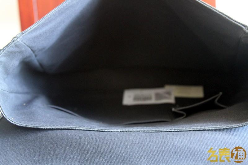 LV 黑棋盘格 男士 单肩包 9成新 N58029图片