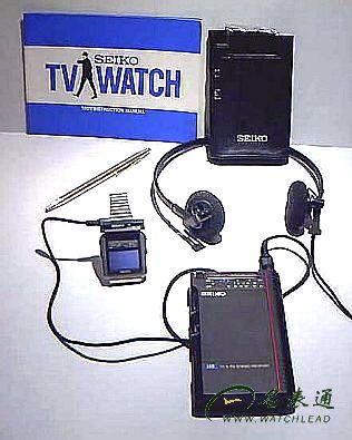 SEIKO TV watch 1982